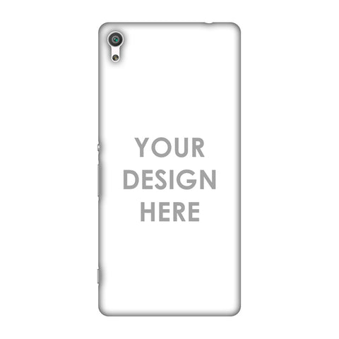 Custom Design It Yourself Slim Hard Shell Case For Sony Xperia XA