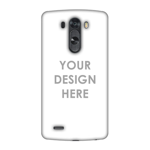 Custom Design It Yourself Slim Hard Shell Case For LG G4