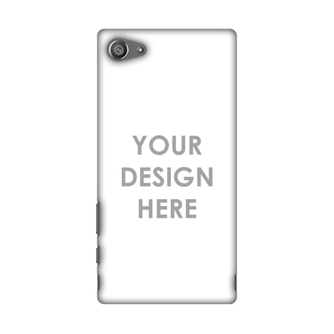 Custom Design It Yourself Slim Hard Shell Case For Sony Xperia Z5 Compact