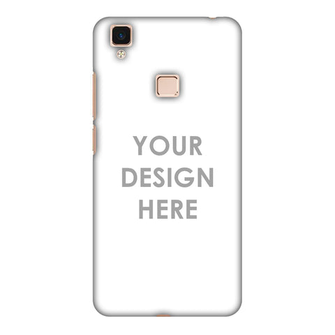 Custom Design It Yourself Slim Hard Shell Case For Vivo V3 Max