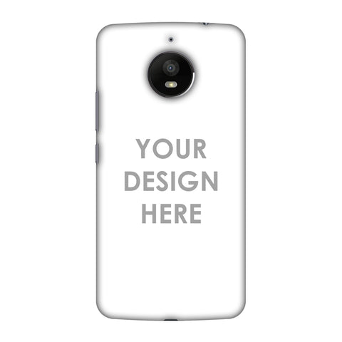 Custom Design It Yourself Slim Hard Shell Case For Motorola Moto E4 Plus