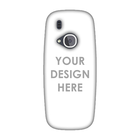 Custom Design It Yourself Slim Hard Shell Case For Nokia 3310