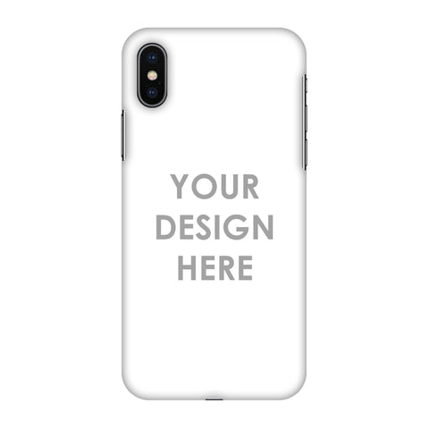 Custom Design It Yourself Slim Hard Shell Case For Apple iPhone X