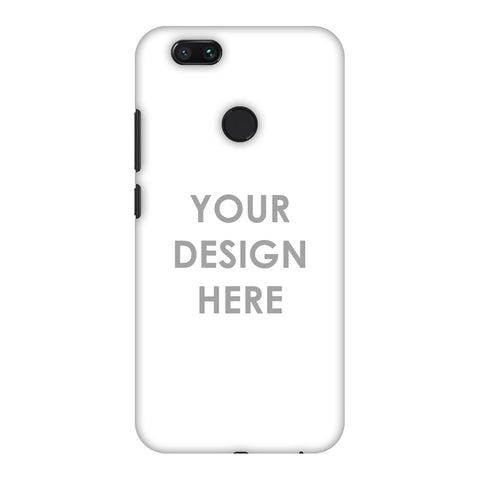 Custom Design It Yourself Slim Hard Shell Case For Xiaomi MI A1-5X