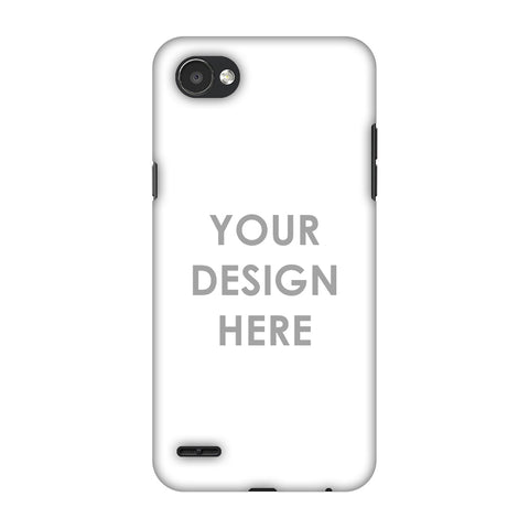 Custom Design It Yourself Slim Hard Shell Case For LG Q6