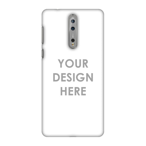 Custom Design It Yourself Slim Hard Shell Case For Nokia 8
