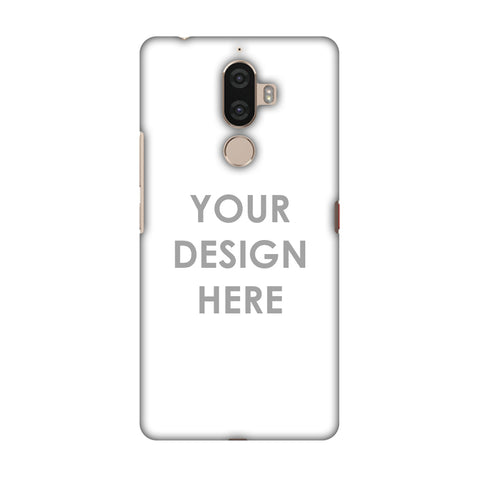 Custom Design It Yourself Slim Hard Shell Case For Lenovo K8 Note
