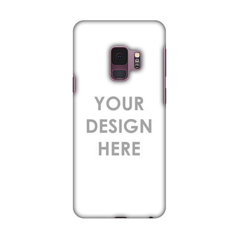 Custom Design It Yourself Slim Hard Shell Case For Samsung Galaxy S9
