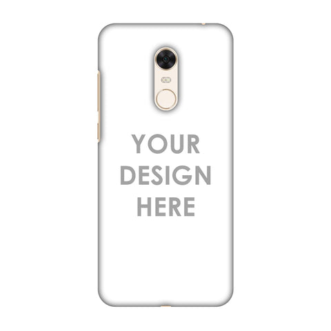 Custom Design It Yourself Slim Hard Shell Case For Xiaomi Redmi Note 5
