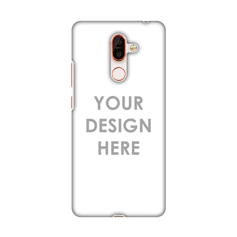 Custom Design It Yourself Slim Hard Shell Case For Nokia 7 Plus