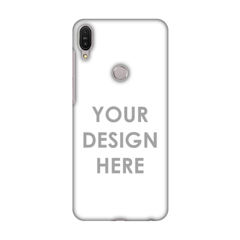 Custom Design It Yourself Slim Hard Shell Case For Asus Zenfone Max Pro M1