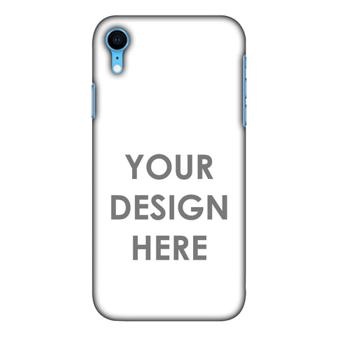 Custom Design It Yourself Slim Hard Shell Case For Apple iPhone Xr