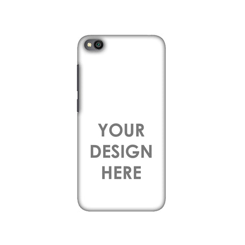 Custom Design It Yourself Slim Hard Shell Case For Redmi Go