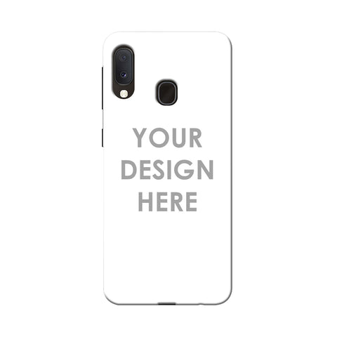 Custom Design It Yourself Slim Hard Shell Case For Samsung Galaxy A20e