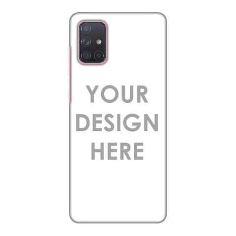 Custom Design It Yourself Slim Hard Shell Case For Samsung Galaxy A71