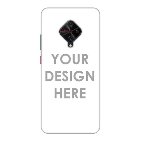 Custom Design It Yourself Slim Hard Shell Case For Vivo V17 Pro