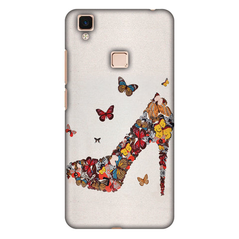 High Heels Slim Hard Shell Case For Vivo V3 Max