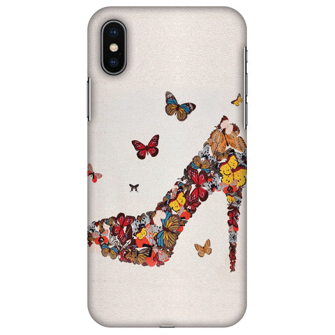High Heels Slim Hard Shell Case For Apple iPhone X
