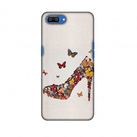 High Heels Slim Hard Shell Case For Oppo Realme C1
