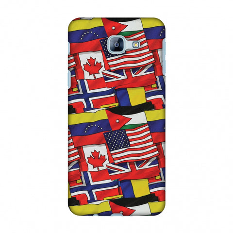 Flags United Slim Hard Shell Case For Samsung Galaxy A8 2016