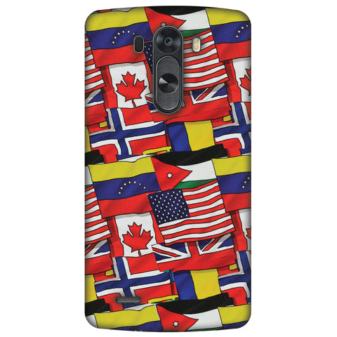 Flags United Slim Hard Shell Case For LG G4