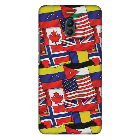 Flags United Slim Hard Shell Case For Meizu Note 6