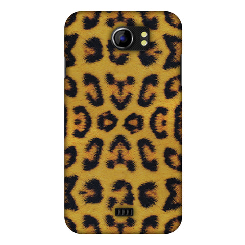 Wild Leopard Slim Hard Shell Case For Micromax Canvas 2 A110
