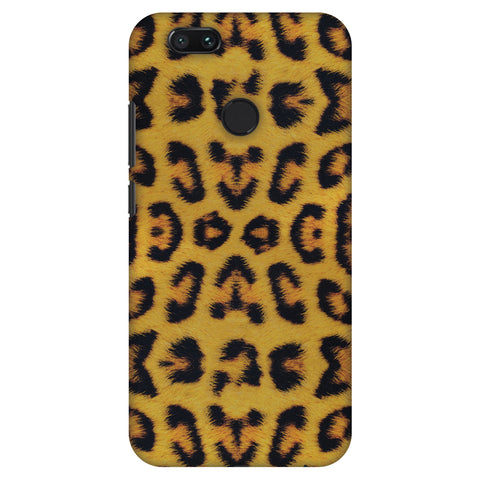 Wild Leopard Slim Hard Shell Case For Xiaomi MI A1-5X