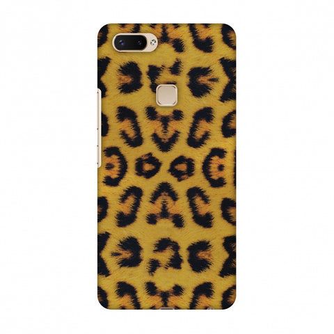 Wild Leopard Slim Hard Shell Case For Vivo X20 Plus