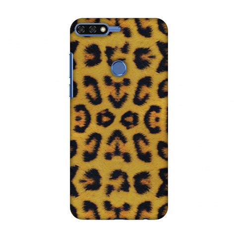 Wild Leopard Slim Hard Shell Case For Huawei Honor 7C
