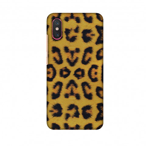 Wild Leopard Slim Hard Shell Case For Xiaomi Mi 8 Pro