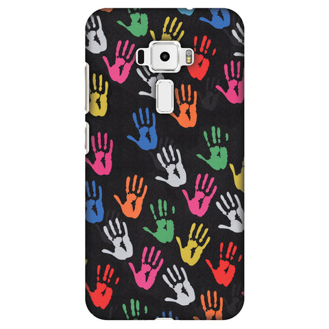 Color Palms Slim Hard Shell Case For Asus Zenfone 3 ZE520KL