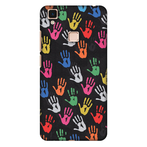 Color Palms Slim Hard Shell Case For Vivo V3 Max