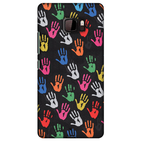 Color Palms Slim Hard Shell Case For HTC U Ultra