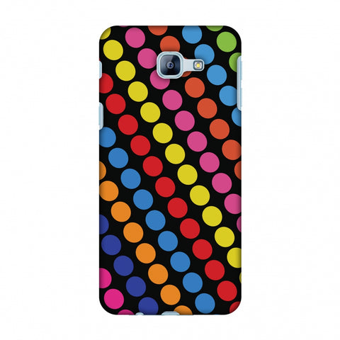 Funky Dot Stripes Slim Hard Shell Case For Samsung Galaxy A8 2016