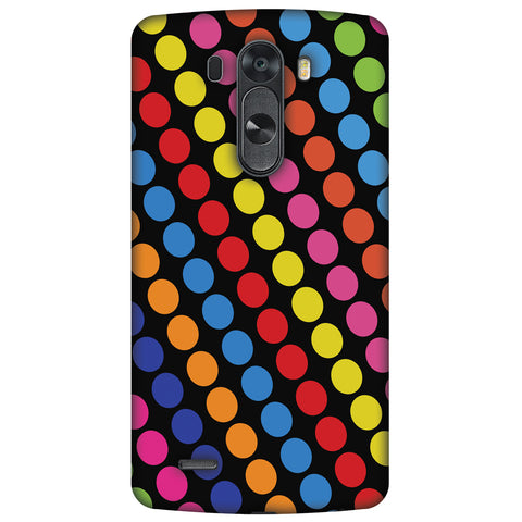 Funky Dot Stripes Slim Hard Shell Case For LG G4