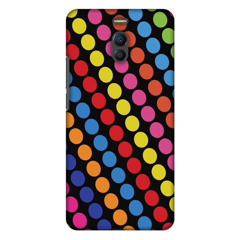 Funky Dot Stripes Slim Hard Shell Case For Meizu Note 6