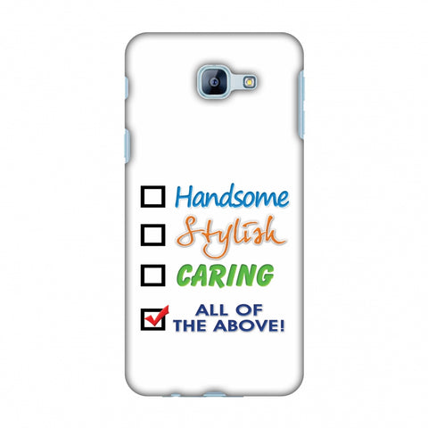 Handsome Slim Hard Shell Case For Samsung Galaxy A8 2016