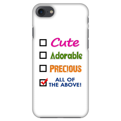Cute Slim Hard Shell Case For Apple iPhone 7