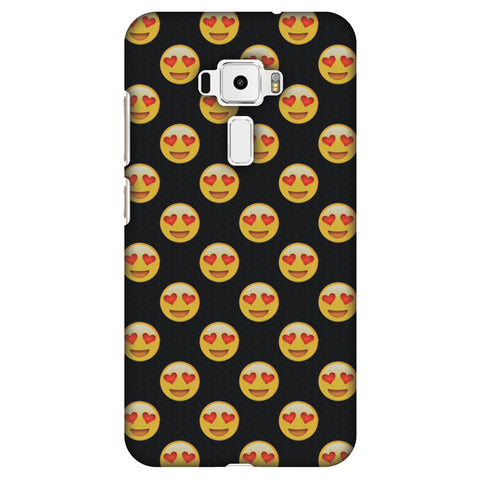 Emoji Love Slim Hard Shell Case For Asus Zenfone 3 ZE520KL