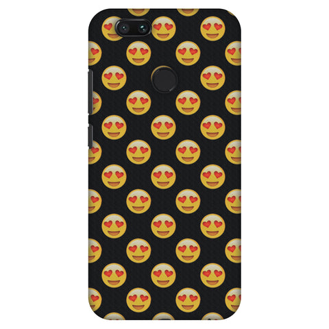 Emoji Love Slim Hard Shell Case For Xiaomi MI A1-5X