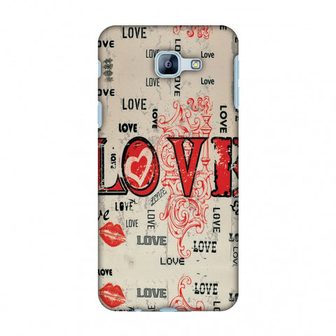 Enchanted Love Slim Hard Shell Case For Samsung Galaxy A8 2016