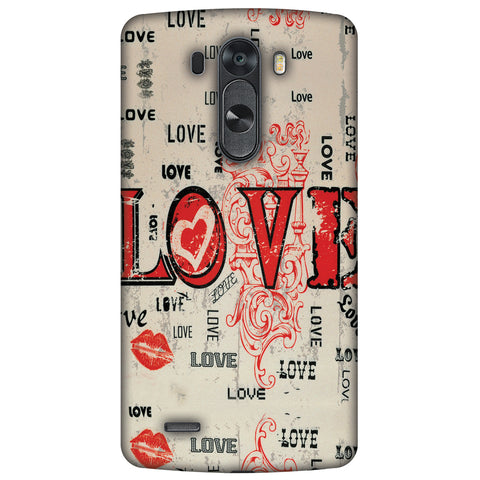 Enchanted Love Slim Hard Shell Case For LG G4