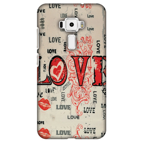 Enchanted Love Slim Hard Shell Case For Asus Zenfone 3 ZE520KL