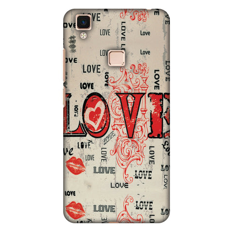 Enchanted Love Slim Hard Shell Case For Vivo V3 Max