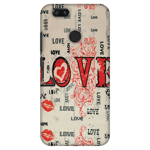 Enchanted Love Slim Hard Shell Case For Xiaomi MI A1-5X