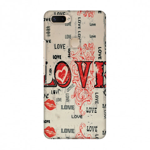 Enchanted Love Slim Hard Shell Case For Vivo X20 Plus