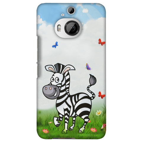 Lexi Zebra Slim Hard Shell Case For HTC One M9 Plus