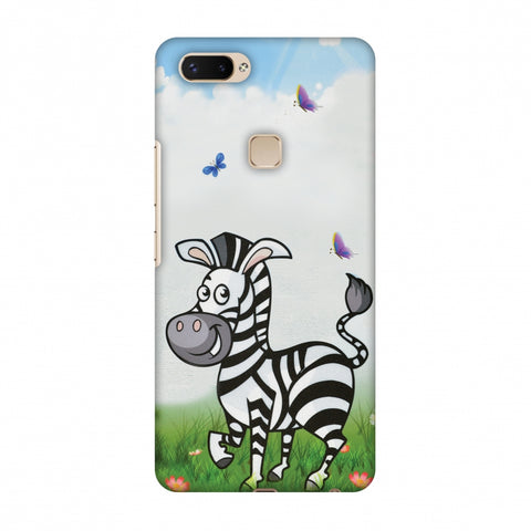 Lexi Zebra Slim Hard Shell Case For Vivo X20 Plus