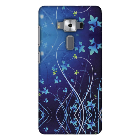 Midnight Lily Slim Hard Shell Case For Asus Zenfone 3 Deluxe ZS570KL